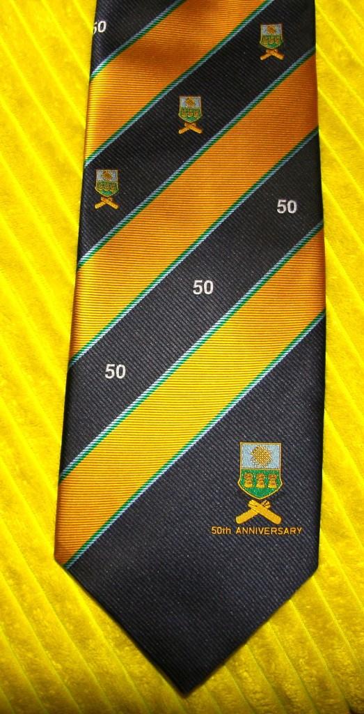 50th Anniversary Tie